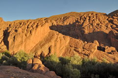 Strange rock formations in Dades Gorge, Morocco Stock Photos