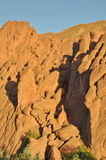 Strange rock formations in Dades Gorge, Morocco Royalty Free Stock Image