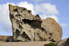 Strange rock formations Royalty Free Stock Images