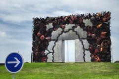 Strange roundabout in France Royalty Free Stock Image