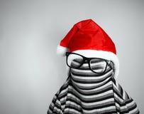 Strange Santa Claus Royalty Free Stock Image