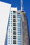 Strange shaped buildings in Chicago Stock Photography