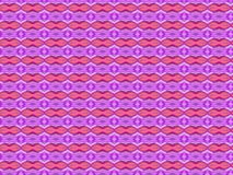 Strange shaped purple and red wallpaper pattern. Illustration Royalty Free Stock Photography