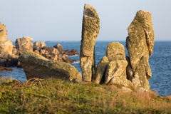 Strange shaped rocks Royalty Free Stock Photography