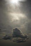 The strange sky Royalty Free Stock Image