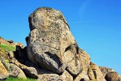 Strange stone formation Royalty Free Stock Photo
