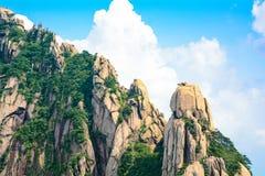 Strange stone in Mount Huangshan of China(Mountain range) Stock Photography