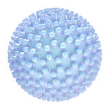 Strange thing. Nano structure construction 3d model Royalty Free Stock Photos