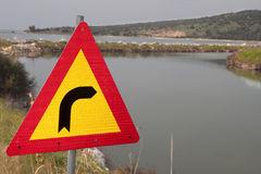 Strange traffic sign Stock Photo