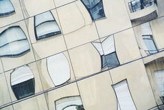 Strange windows reflex Royalty Free Stock Photos