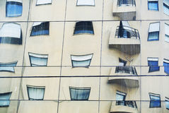Strange windows reflex 2 Stock Photos