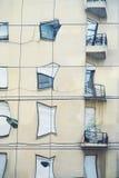 Strange windows reflex 3 Royalty Free Stock Photography