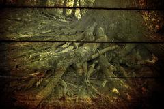 Strange wood Stock Image