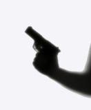 stranger för lockpistolkupa royaltyfri fotografi
