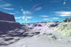 Stranger planets Stock Photography