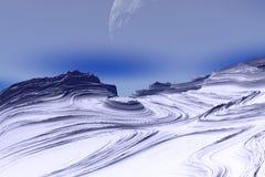 Stranger planets Stock Images