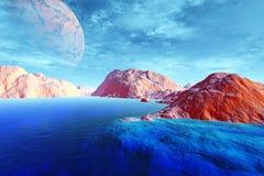 Stranger planets Stock Photos