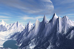Stranger planets Royalty Free Stock Images