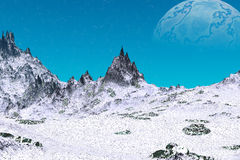 Stranger planets Royalty Free Stock Image