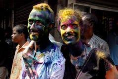 Stranieri in India Immagine Stock