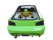 Straniero in automobile fotografia stock
