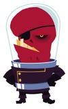 Straniero rosso Fotografia Stock