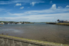 Stranraer Harbour and Loch Ryan Stock Photo