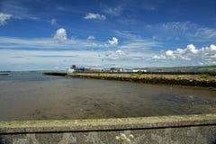 Stranraerhaven en station Royalty-vrije Stock Foto's