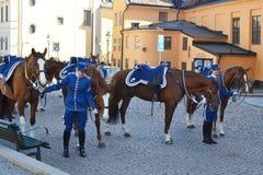 strażowy królewski Sweden Obrazy Stock