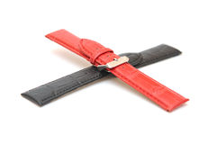 Strap on a wristwatch Stock Photo