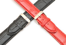 Strap on a wristwatch Royalty Free Stock Photo