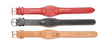 Strap on a wristwatch Stock Photos
