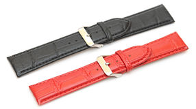 Strap On A Wristwatch Stock Image