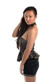 Strapless blouse Royalty-vrije Stock Foto