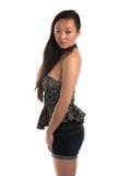 Strapless blouse Royalty-vrije Stock Fotografie