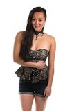 Strapless blouse Royalty Free Stock Image