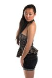 Strapless blouse Royalty Free Stock Photography