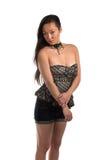 Strapless blouse Royalty Free Stock Photos