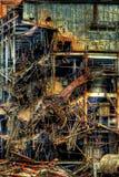 Strappi giù di Sugar Mill Sugar Land Texas imperiale Immagini Stock