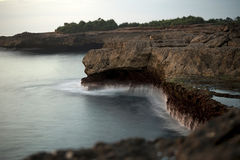 Strappo del ` s del diavolo nell'isola di Lembognan Fotografia Stock Libera da Diritti