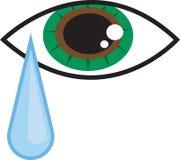 Strappo dell'occhio illustrazione di stock