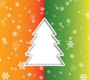 Strappo della carta di Natale Fotografie Stock
