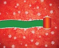 Strappo della carta di Natale Immagine Stock Libera da Diritti