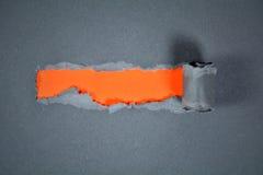 Strappo di carta Fotografie Stock
