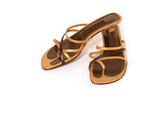 Strappy sandals Royalty Free Stock Photography