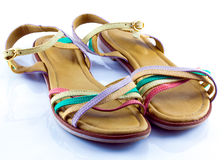 Strappy sandals Royalty Free Stock Images