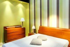 Straps bedroom Stock Photo
