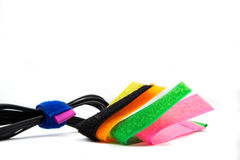 Straps for easy wiring. And can be reused many times. Royalty Free Stock Photography