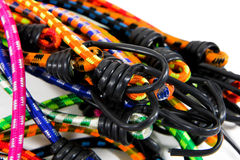 Straps Rubber colors Stock Image