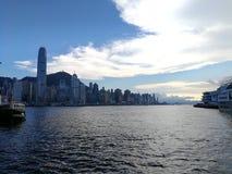 从strarferry的香港 免版税图库摄影